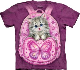 Футболка The Mountain 103432 Backpack Kitty